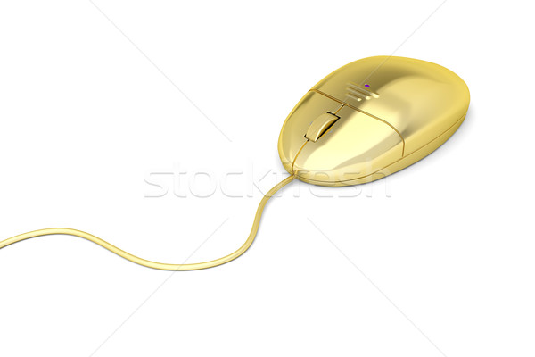 Golden mouse Stock photo © magraphics