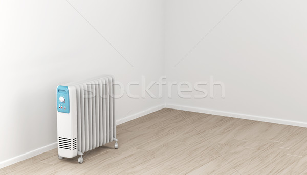 Oil-filled electric heater Stock photo © magraphics