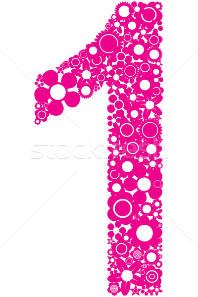 Number 1 Stock photo © magraphics