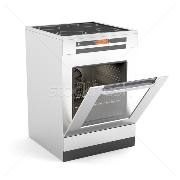 Electric stove Stock photo © magraphics