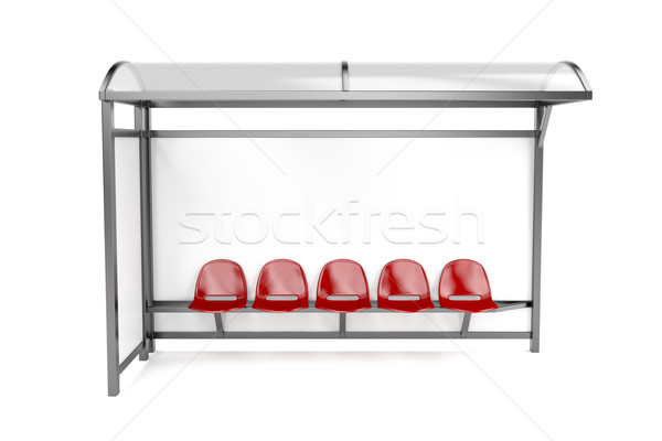 Bus stop Stock photo © magraphics