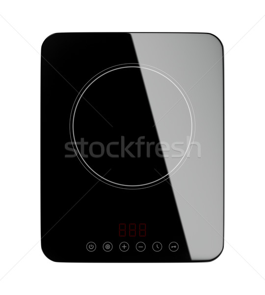Induction cooktop  Stock photo © magraphics