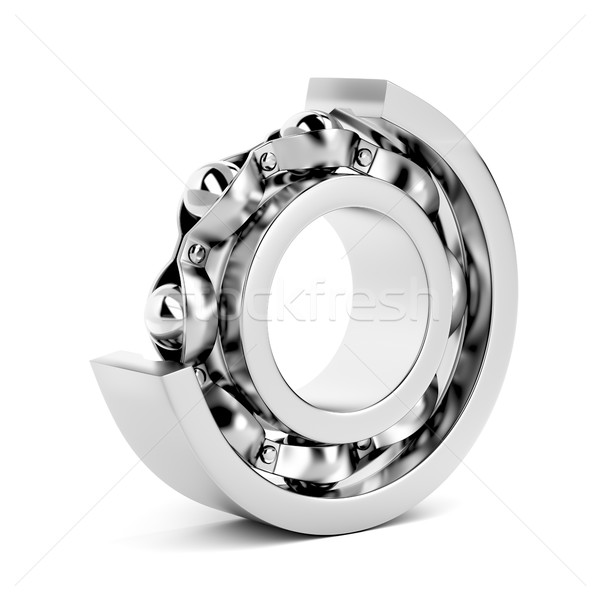 Ball bearing, cutaway Stock photo © magraphics
