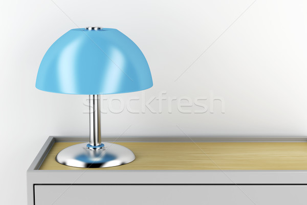 Table lamp Stock photo © magraphics