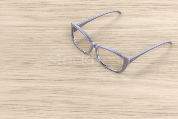 Modern female eyeglasses Stock photo © magraphics