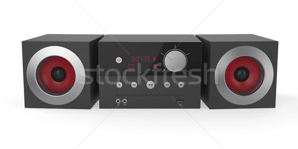 Mini audio system Stock photo © magraphics
