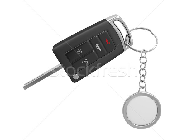 Car key with keyring Stock photo © magraphics