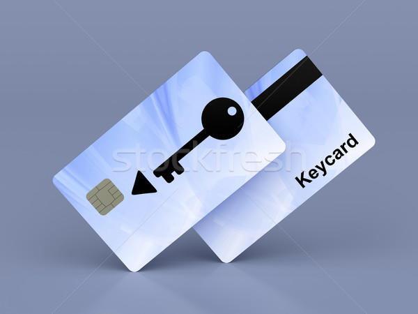 Keycards Stock photo © magraphics