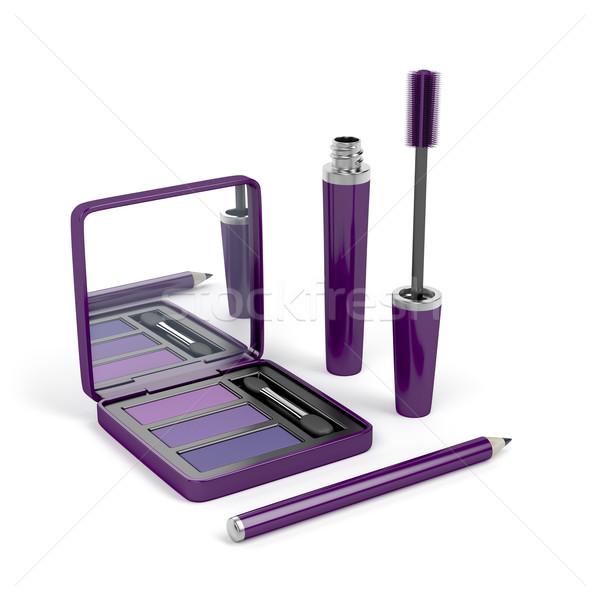 Eye make-up set Stock photo © magraphics
