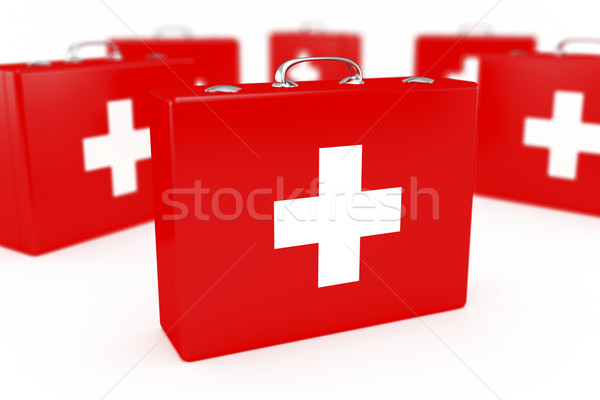 First aid kits Stock photo © magraphics