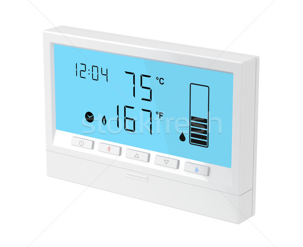 Central water heater control panel Stock photo © magraphics