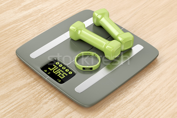 Smart fitness devices Stock photo © magraphics