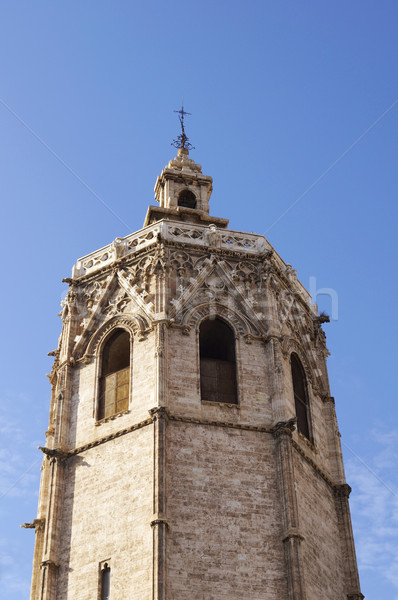 The Micalet tower in Valencia Stock photo © magraphics