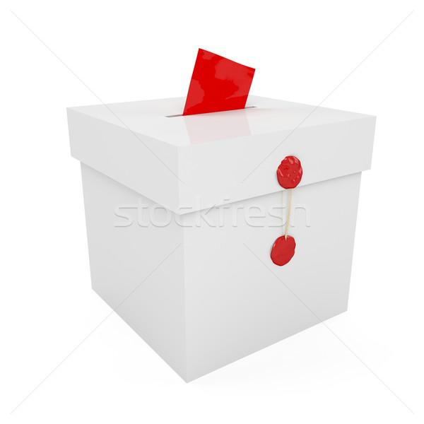投票 ボックス ワックス 投票 政治 政府 ストックフォト © magraphics