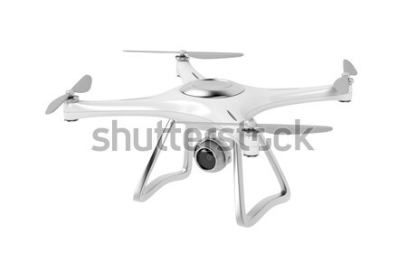 Unmanned aerial vehicle (drone) Stock photo © magraphics