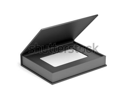 Scanner bianco nero foto hardware open Foto d'archivio © magraphics