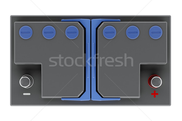 Black car battery Stock photo © magraphics