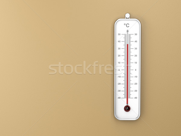 Indoor thermometer Stock photo © magraphics
