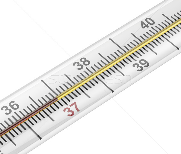 Mercury medical thermometer Stock photo © magraphics