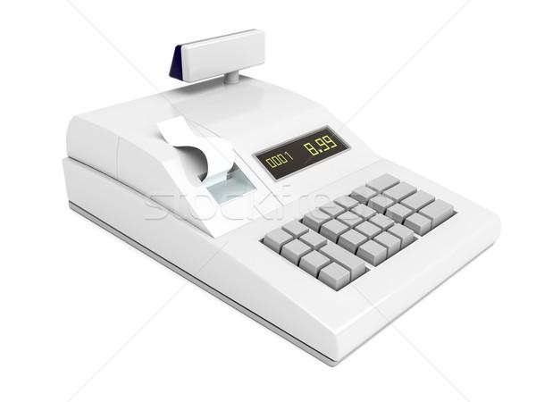 レジ 孤立した 白 ビジネス 金融 電卓 ストックフォト © magraphics