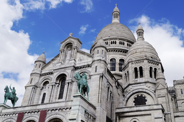 Sacre-Coeur basilica in Paris Stock photo © magraphics