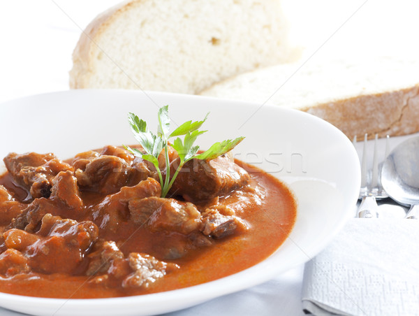 Stock photo: Goulash
