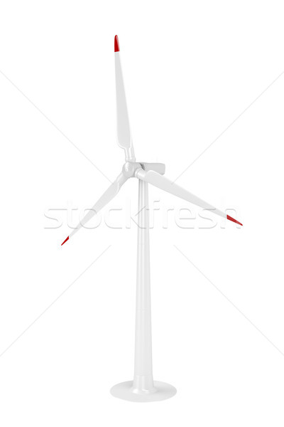 Modern wind turbine Stock photo © magraphics