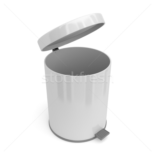 Open pedal bin Stock photo © magraphics