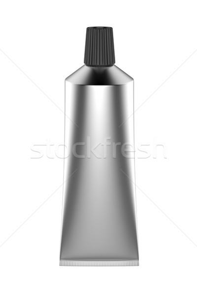 Silver tube Stock photo © magraphics