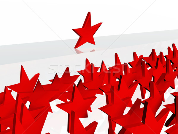 Leader star Stock photo © magraphics