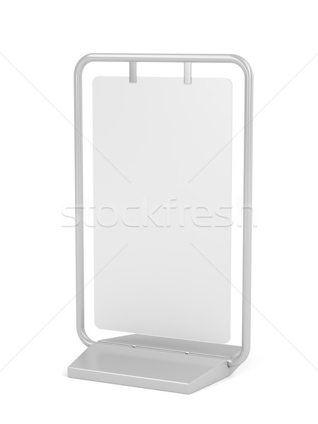 Advertising stand Stock photo © magraphics