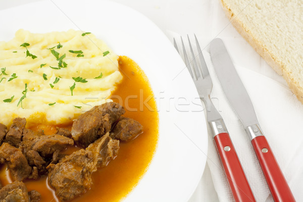 Goulash meal Stock photo © magraphics