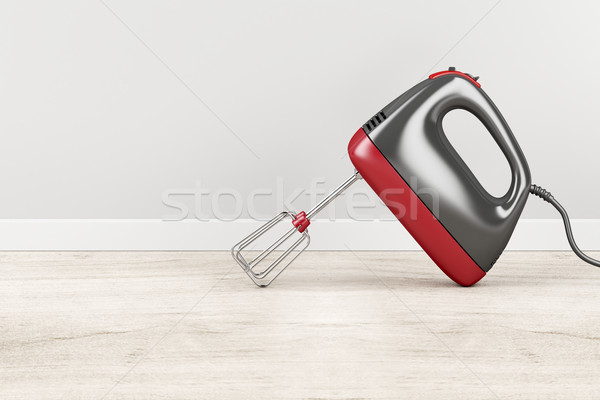 Elektromos keverő konyha fa szerszám felszerlés Stock fotó © magraphics
