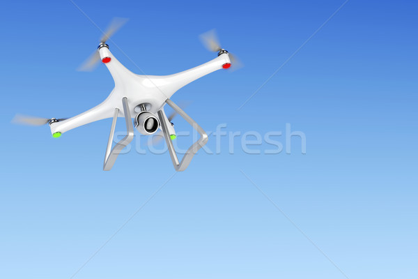Unmanned aerial vehicle Stock photo © magraphics