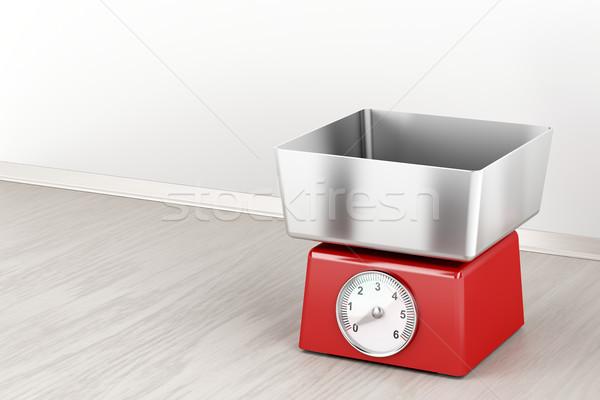 メカニカル 重量 規模 キッチン 木材 楽器 ストックフォト © magraphics