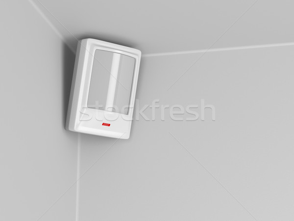 Infrared motion sensor Stock photo © magraphics