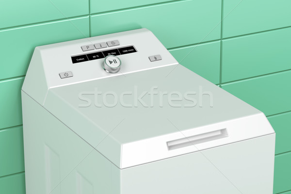 Top load washing machine Stock photo © magraphics
