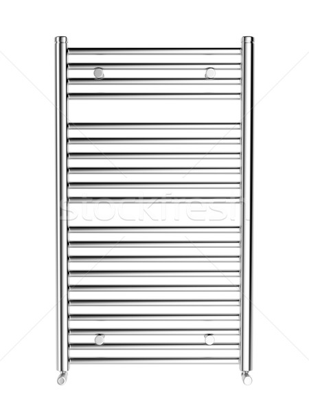 Cromo banheiro aquecedor ver isolado Foto stock © magraphics