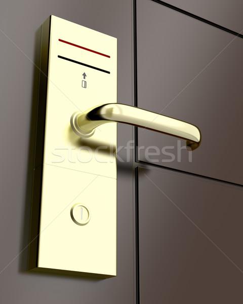 Electronic lock Stock photo © magraphics