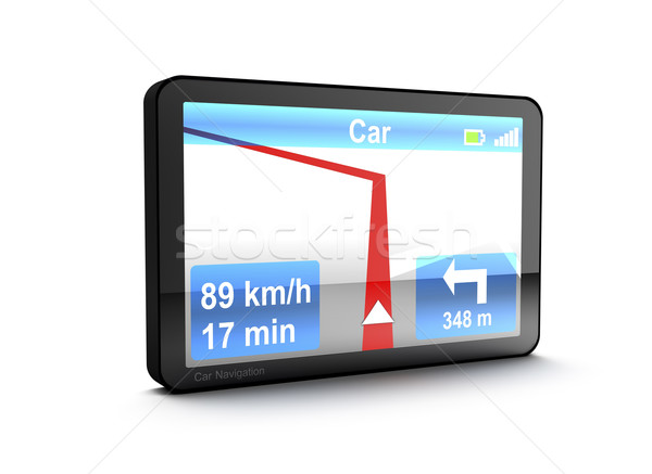 Navigation device Stock photo © magraphics