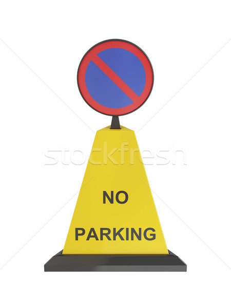 No parking cone Stock photo © magraphics