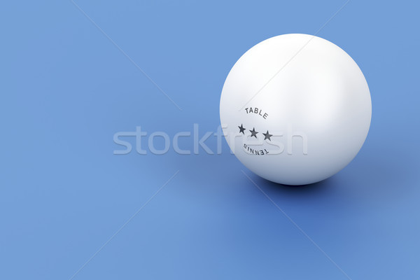 Ping pong ball Stock photo © magraphics