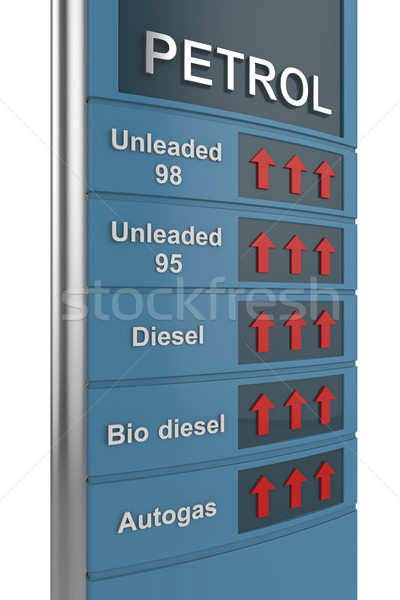 Fuel price Stock photo © magraphics