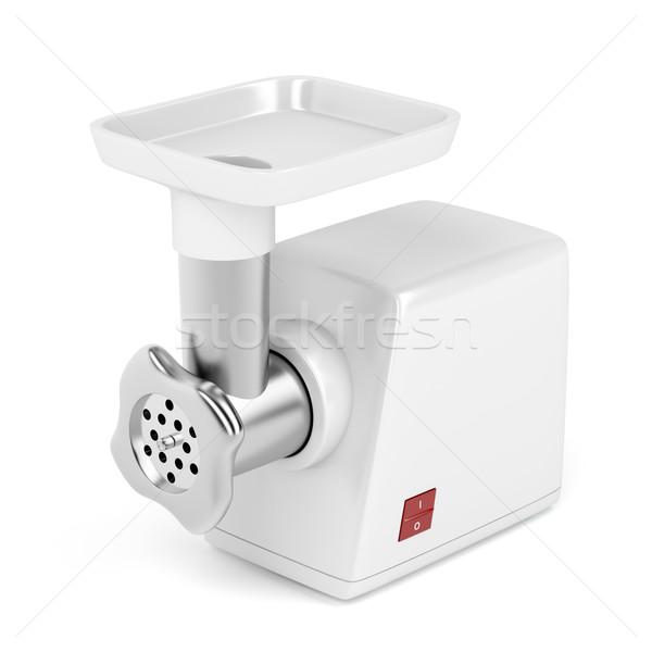 Hús daráló fehér konyha gép Stock fotó © magraphics