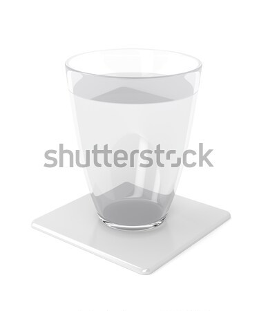 Stock photo: Glass of water