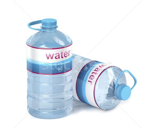Two big water bottles Stock photo © magraphics