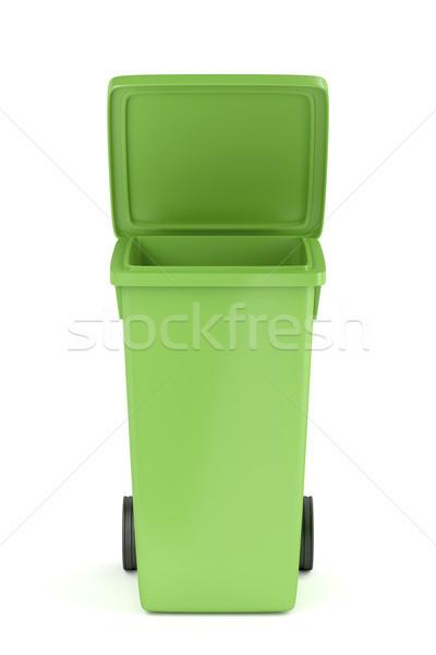 プラスチック 廃棄物 コンテナ 緑 リサイクル ストックフォト © magraphics