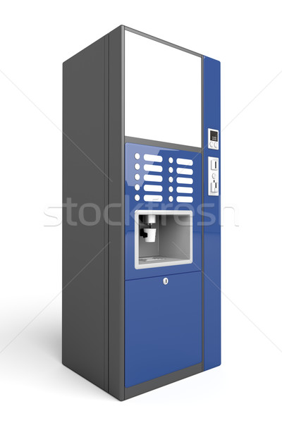 Coffee vending machine Stock photo © magraphics