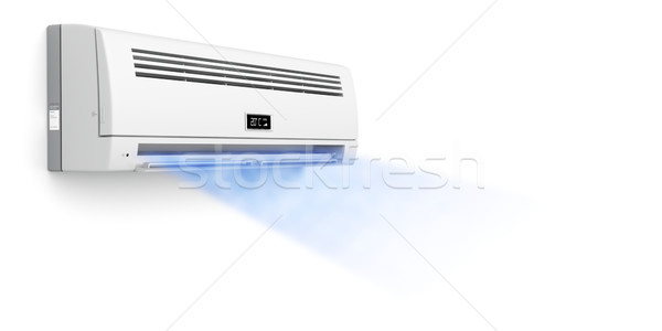 Air conditioner blowing cold air Stock photo © magraphics