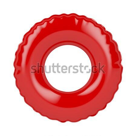 Red swim ring Stock photo © magraphics